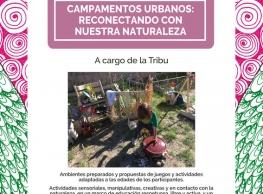 """Campamentos Urbanos """"Reconectando con la naturaleza"""""""
