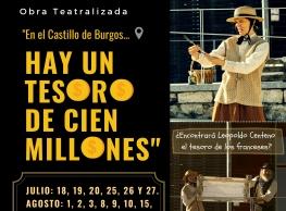 """Ronco Teatro presenta """"Hay un tesoro de cien millones"""""""