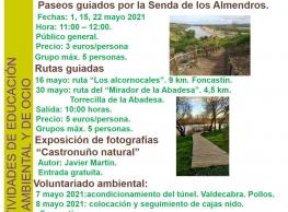 Paseo guiado por la Senda de los Almendros en Castronuño