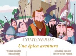 "Visita guiada teatralizada ""Comuneros, una épica aventura"" en Medina de Rioseco"
