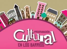 """Programa """"Cultura en tu Barrio""""."""