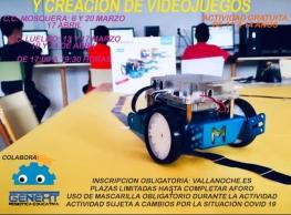 """Taller de robótica: """"Casa domótica y creación de videojuegos"""""""