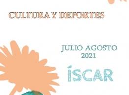 """Verano 2021 en Íscar """"Cultura y deportes"""""""