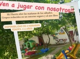 """""""Mañanas de los Sábados"""" en CI Mi Huerto"""