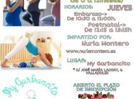 Yoga Prenatal y Postnatal en My Garbancito