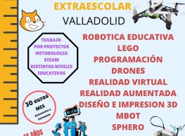 Robótica extraescolar en Pulediamante
