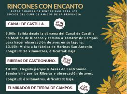 Ruta del Canal de Castilla. Ruta de senderismo.