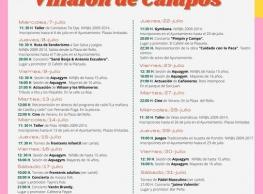 Actividades de Verano en Villalón