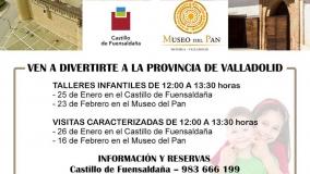 Talleres infantiles y Visitas Caracterizadas en el Museo del Pan