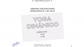 Taller: Yoga Dinámico en My Garbancito