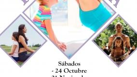 Yoga en Familia en el Centro Victoria Gómez