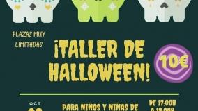 """""""Taller de Halloween"""" en Lluvia de Colores"""