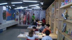 Ambiente Infantil en el Aula de Medio Ambiente Caja de Burgos de Palencia