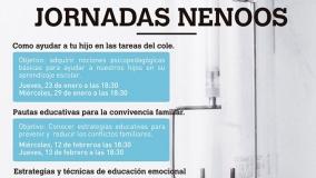 "Jornadas NENOOS: ""Pautas educativas para la convivencia familiar"""