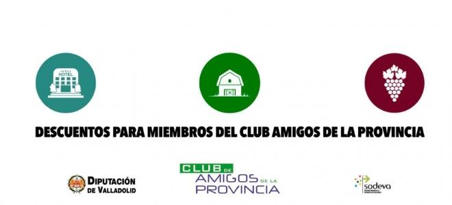 Hazte Amigo de la Provincia de Valladolid