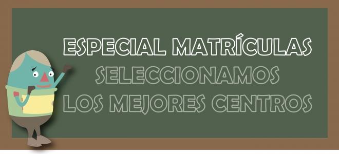 Especial Matrículas 2021-2022.
